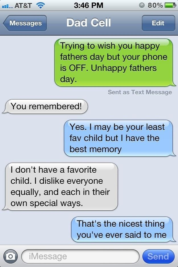 Because your father never played favorites. | 28 Reasons To Appreciate Your Dad This Fathers