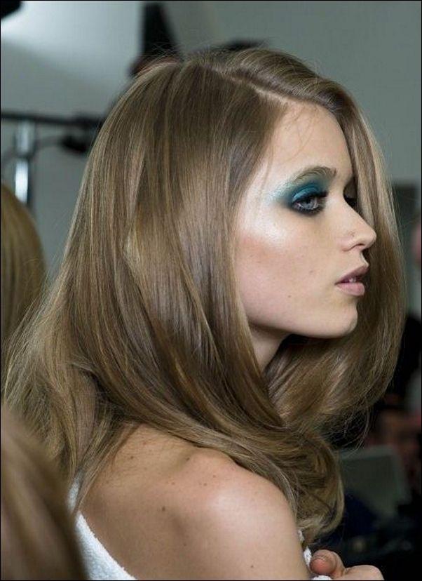 Light Describe How Brown Hair