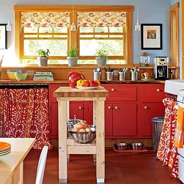 90 Best Ideas About More Cabinet Curtains On Pinterest
