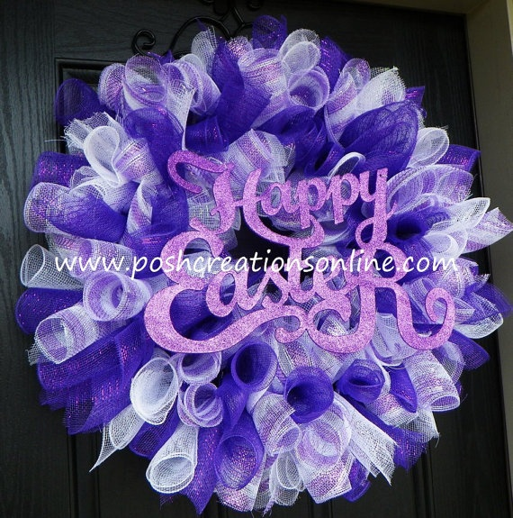 Easter Wreath Easy Wreaths To Make Pinterest The