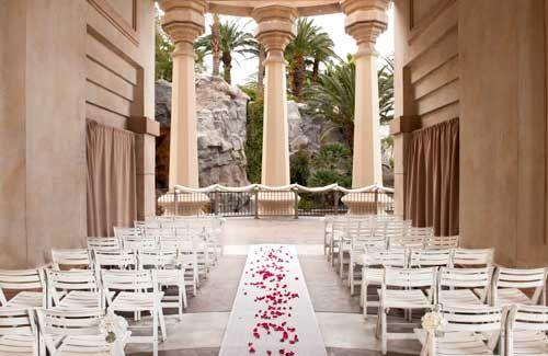 6 classy Vegas wedding venues — Valley of the Falls venue, Mandalay