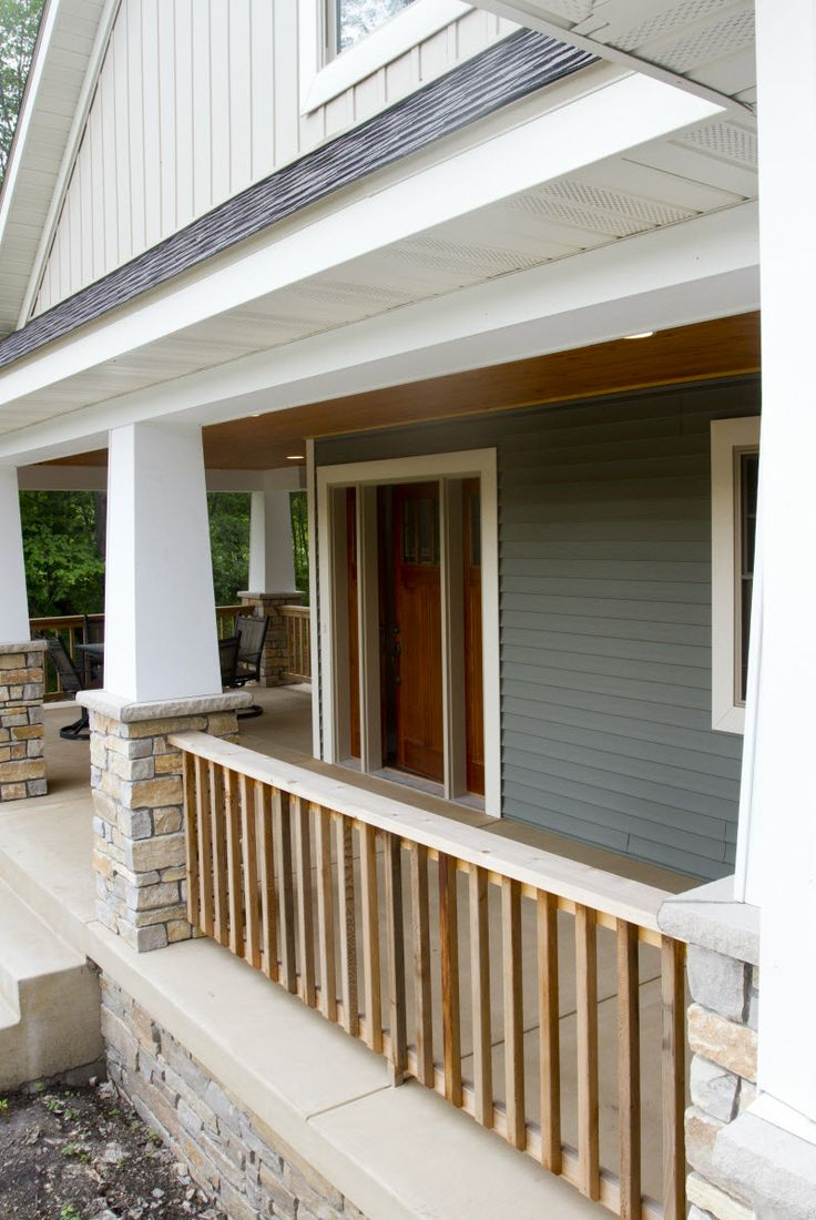 Exterior Columns White Square Tapered Columns Sitting