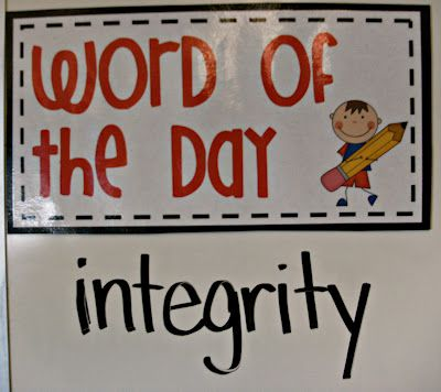 If the class can use it correctly 10 times that day then there will be a reward! Use a word from WJFT…