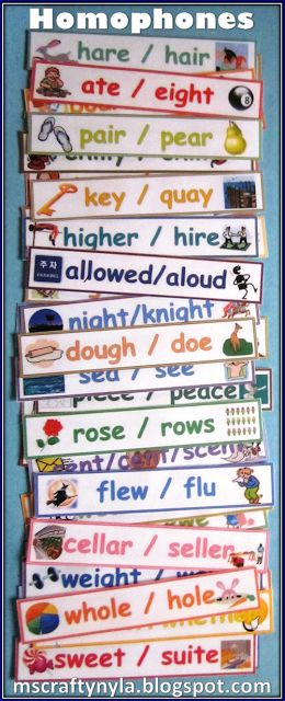 31 Best Images About Word Work Homophones And Homonyms On
