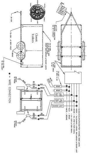 Trailer Wiring Diagram 6 Wire Circuit | jeep | Pinterest