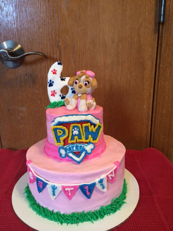 Paw Patrol Cake By Sweet Bites Sweet Bites Pinterest