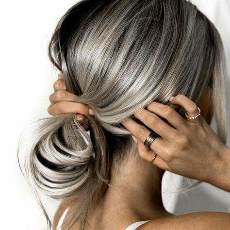 25 best ideas about gray streaks on pinterest silver haired beauties silver grey hair gray