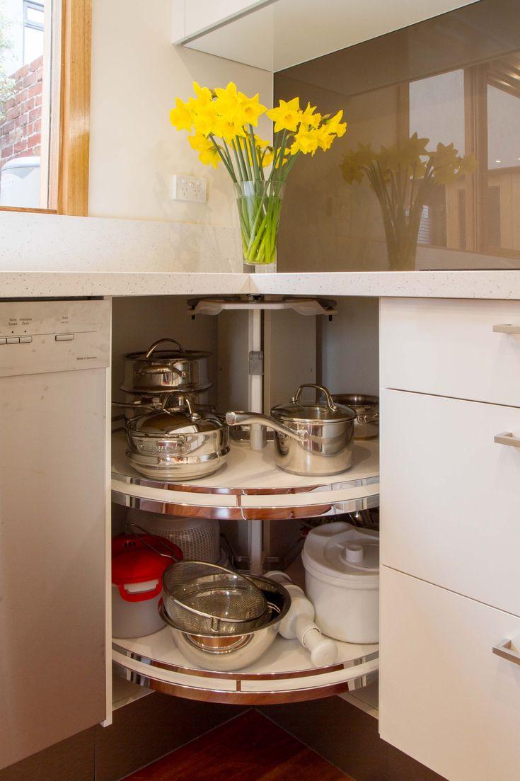 Small Contemporary Kitchen With Servery Window Revo 90