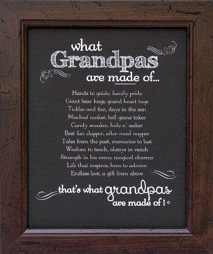 Grandpa Frame: Grandpa Made of Poem | Christmas ...