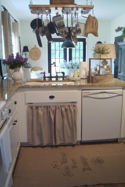 Farmhouse Kitchen Sink Skirt Home Decor Pinterest
