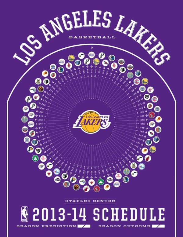 Los Angeles Lakers 2013-14 Schedule | 2013-14 NBA ...