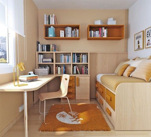 Cool Bedroom Design For Small Rooms Articature Com Study Table By The