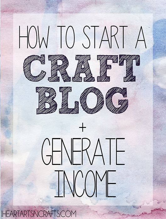 Learn how to set up your own crafting or DIY blog in minutes with just 4 easy steps! Use your new blog to show off your crafting