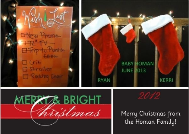 Christmas Pregnancy Announcement Baby Baby Pinterest