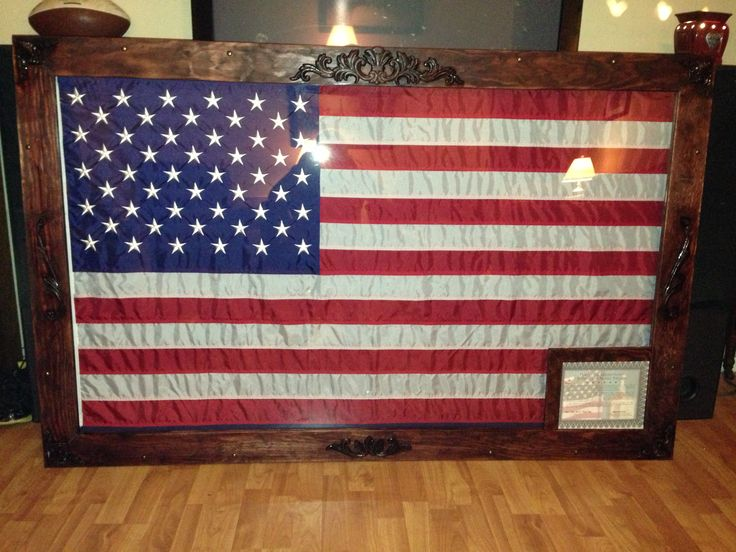 DIY 3x5 Flag Shadow Box Frame Home Stuff
