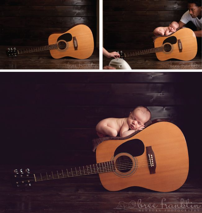 The following images were sent to us courtesy of Bree Franklin Photography. Her creative newborn photos below are centered around