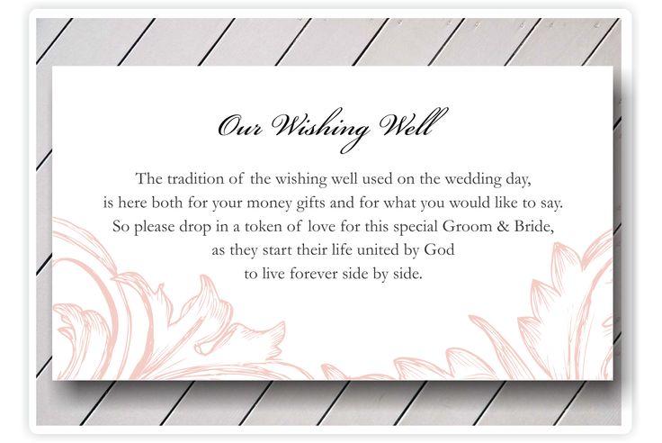 Wedding Invitation Inserts Asking For Money