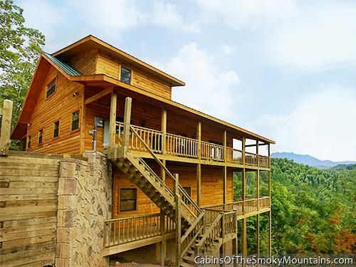 Whole Lotta Cabin Wild Turkey 6 Bedroom In Gatlinburg Sleeps