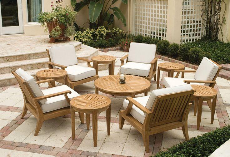 Teak Deep Seating Lounge Furniture