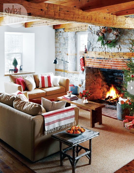 15 Easy Holiday Decorating Ideas Fireplaces Living