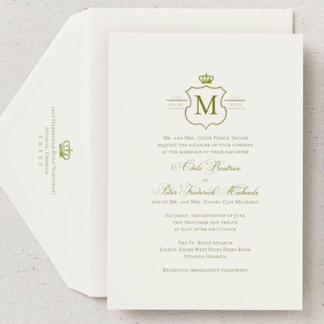 bridescom royal wedding invitations this invitation suite features a