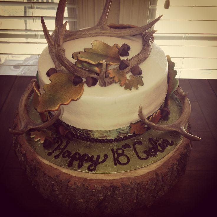 Camo Hunting Cake The Cakes I Make Pinterest