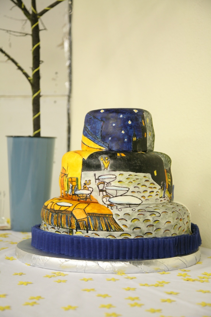 1000 Images About Art Inspired Cakes On Pinterest