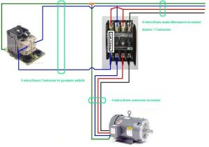 Three Phase Contactor Wiring Diagram Electrical Info PICS