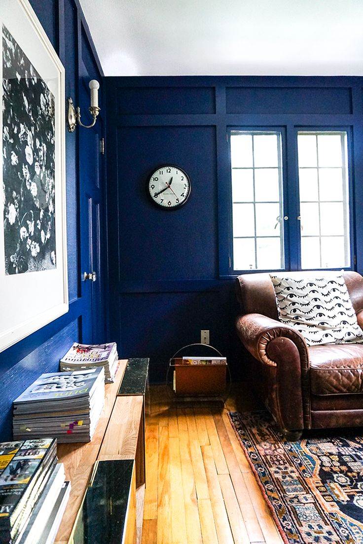 95 best images about blue rooms on pinterest on blue office color id=37239