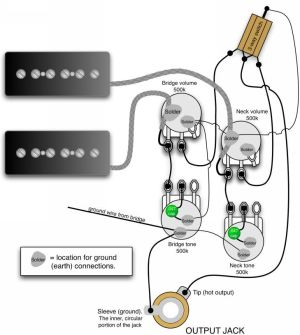 17 Best images about Guitar Wiring Diagrams on Pinterest