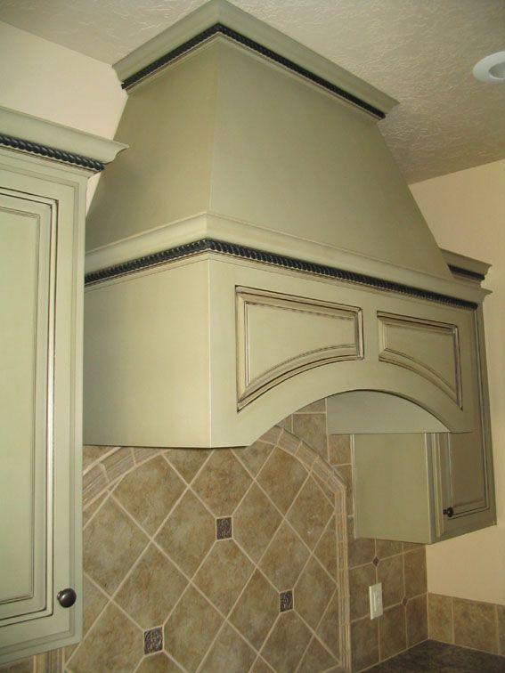 Sage Green Kitchen Cabinets Sage Green Arched Exhaust