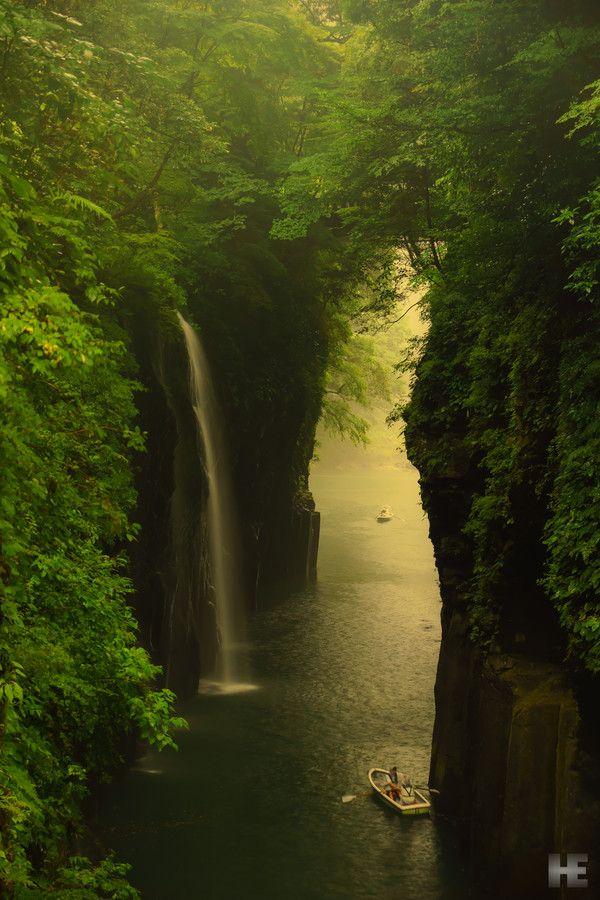 Takachiho Gorge, Miyazaki, Japan: