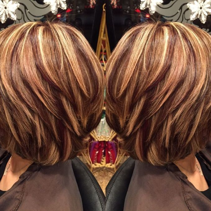 Image Result For Short Hair With Highlights And Lowlights