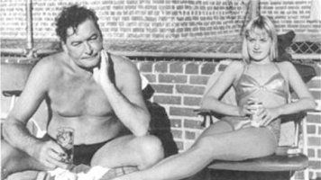 Errol Flynn and Beverly Aadland - late 1950's | Errol Flynn ...