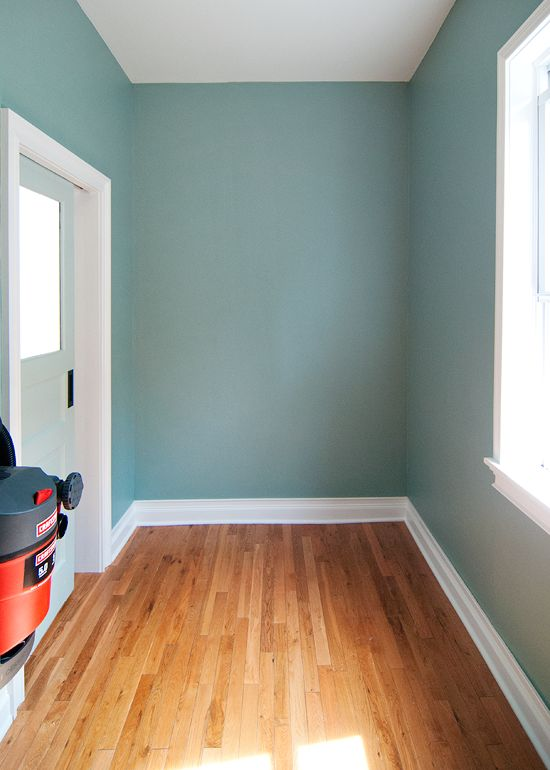 the color stratton blue by benjamin moore and we had it on green office paint color id=73675