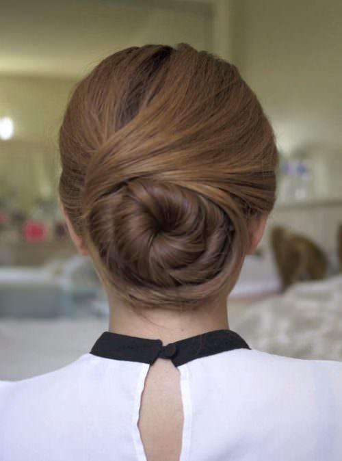 17 Best Ideas About Flight Attendant Hair On Pinterest