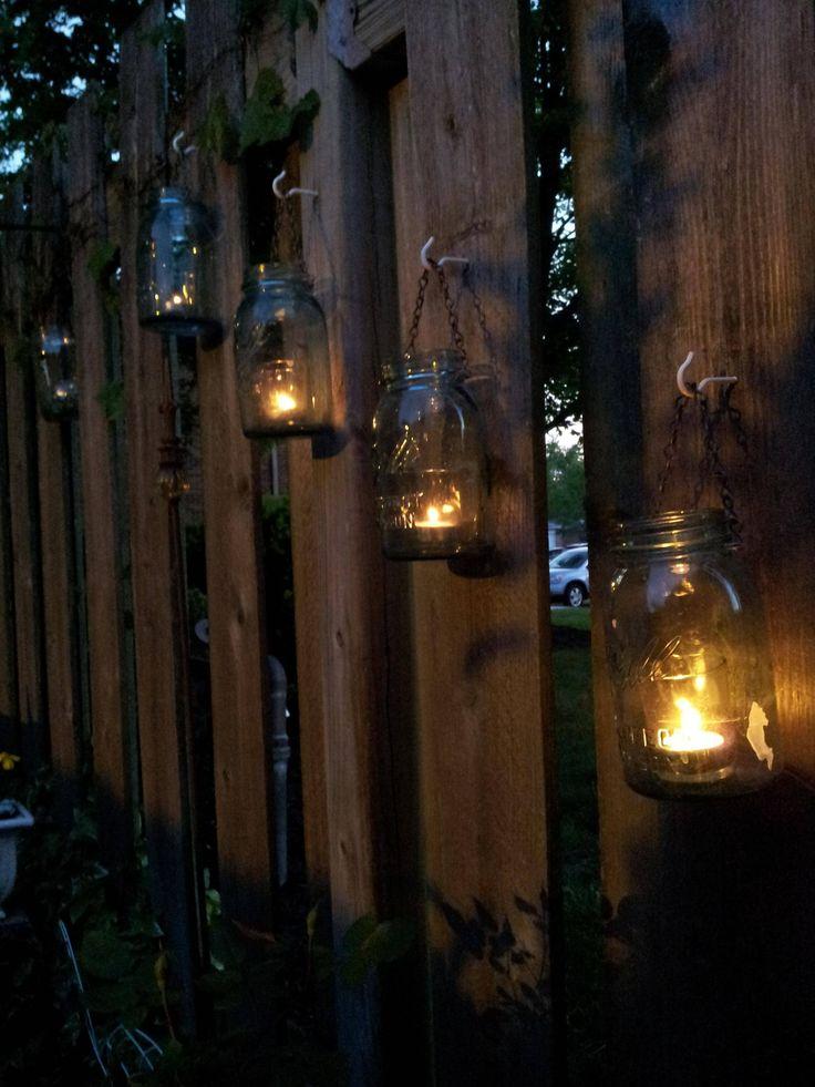 25 Best Ideas About Fence Lighting On Pinterest Solar