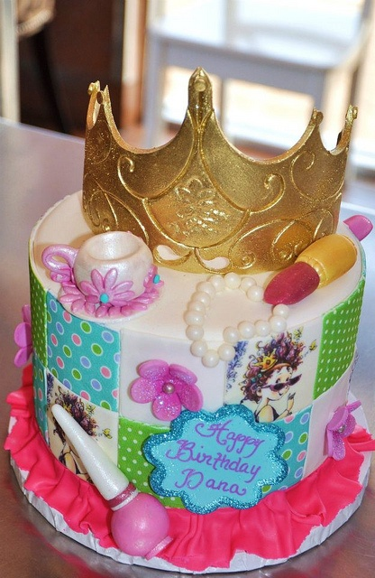 Fancy Nancy Cake By Thecakemamas Via Flickr Cakes