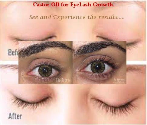 Castor Oil For Eyelashes Full Lush Long And Curved