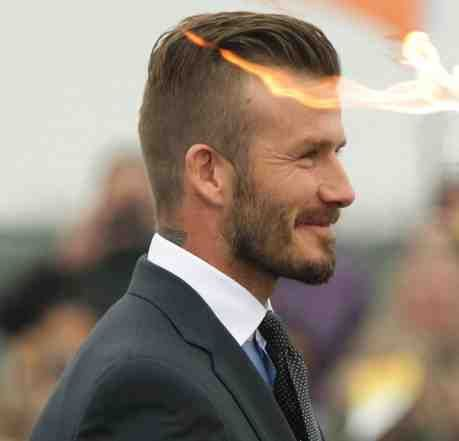 Undercut Hairstyle David Beckham FELLAS Pinterest