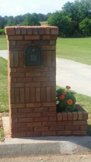 Free Brick Mailbox Plans WoodWorking Projects Amp Plans