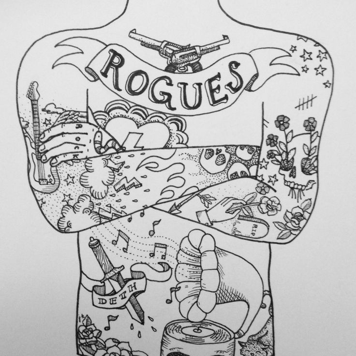 best images about body art tattoo coloring pages for