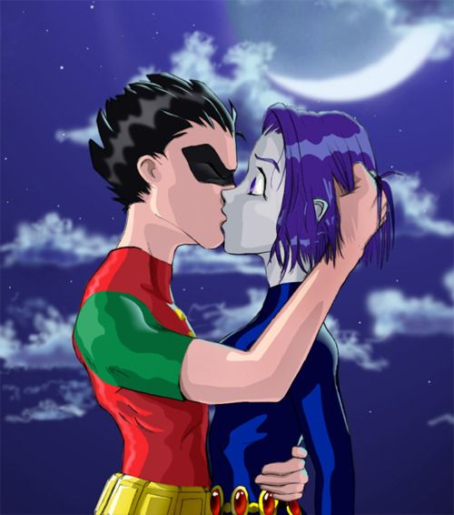 25+ best ideas about Robin and starfire kiss on Pinterest ...