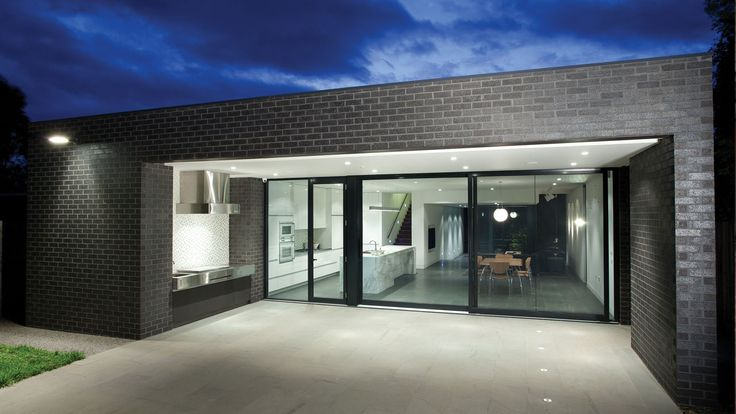 austral bricks elements in zinc used on moonee ponds residence by designplace lookbook on zink outdoor kitchen id=41681