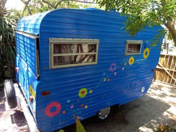Vintage 11ft York caravan with full annexe. | Caravan ...