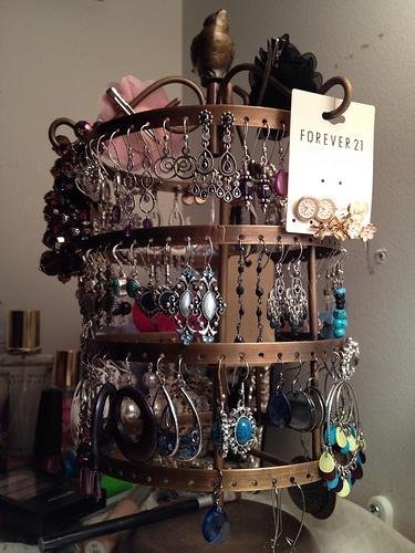 Earring organizer Great!