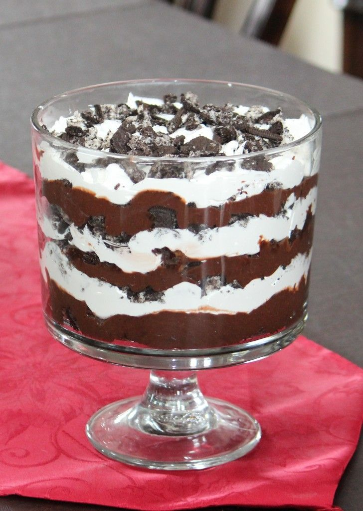 Blog post at Frugal Fanatic : This oreo trifle recipe is simple to make but looks like you spent a lot of time on it. It is