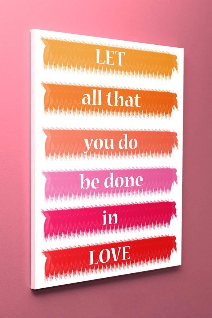 Download Let All That You Do Be Done in Love | Products | Pinterest ...