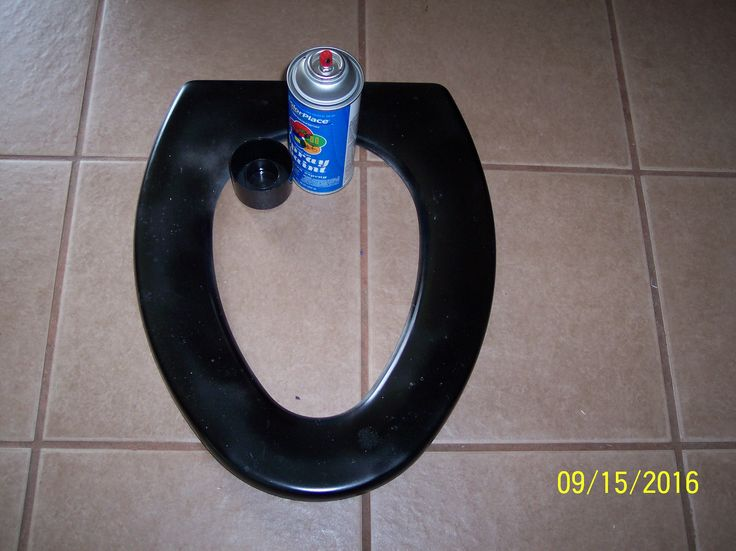 Dont get rid of that old toilet seat clean it spray