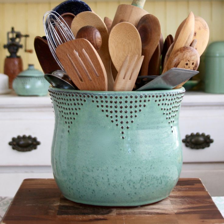 17 Best Ideas About Kitchen Utensil Holder On Pinterest